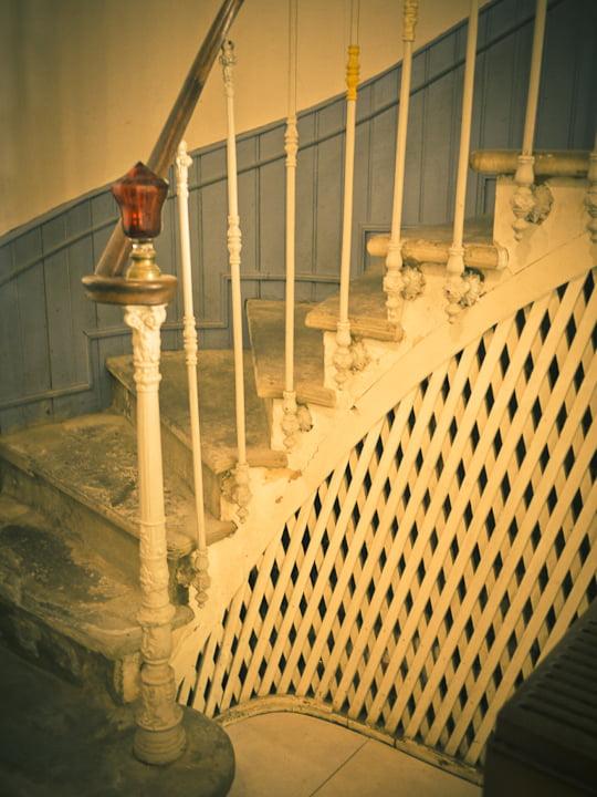 The central stairways