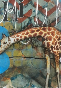 Art Journaling giraff
