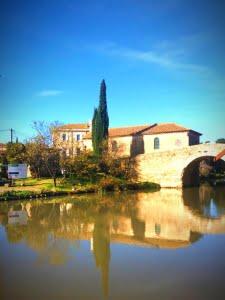 Le Somail Canal du Midi