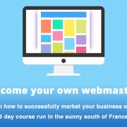 Web design short course 5 days southern France